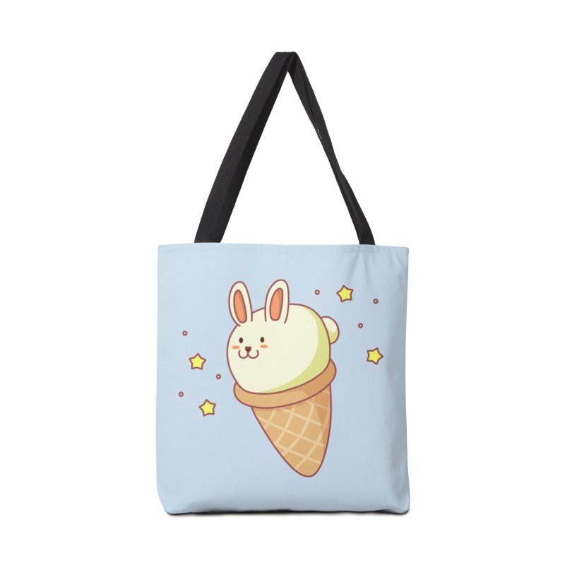 Bunny-lla Ice Cream Accessories Bag by anishacreations's Artist Shop