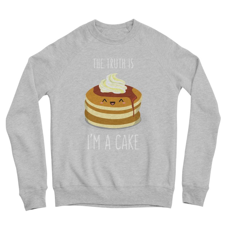 Sweet Truth Men's Sponge Fleece Sweatshirt by anishacreations's Artist Shop