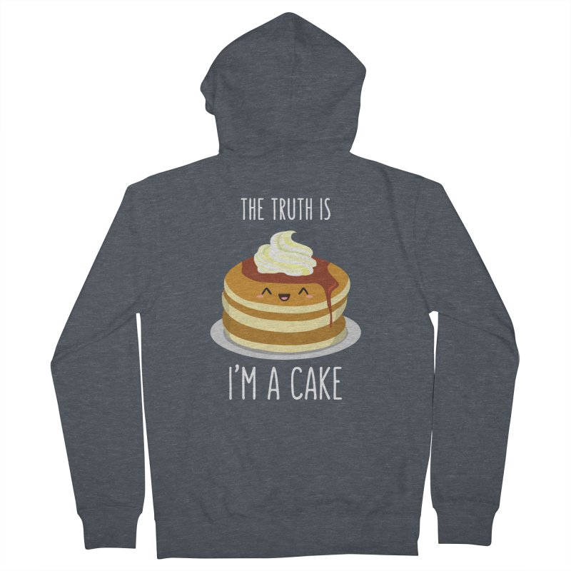 Sweet Truth Women's French Terry Zip-Up Hoody by anishacreations's Artist Shop