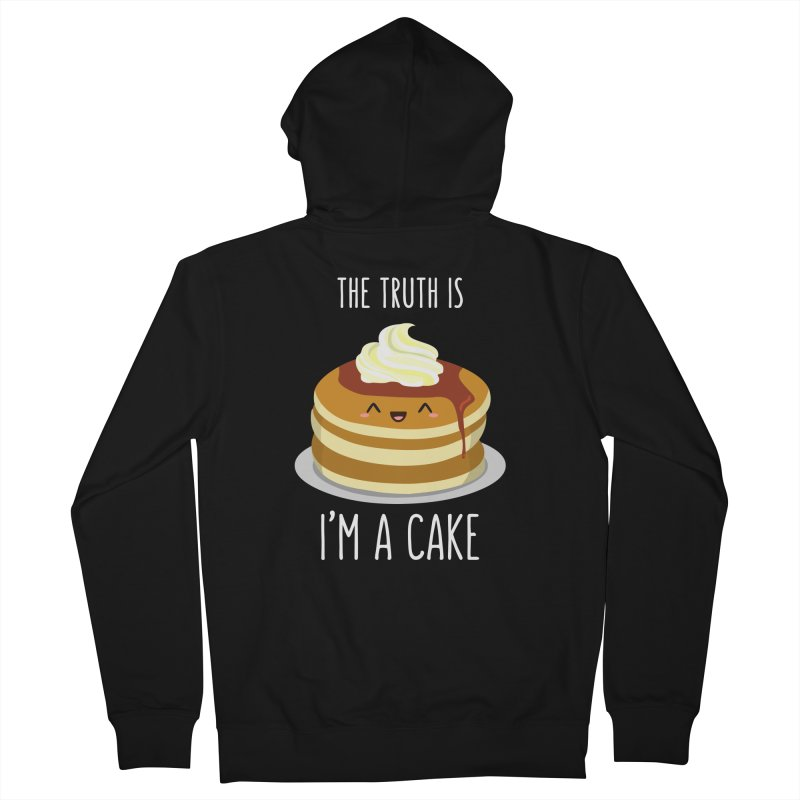 Sweet Truth Men's French Terry Zip-Up Hoody by anishacreations's Artist Shop