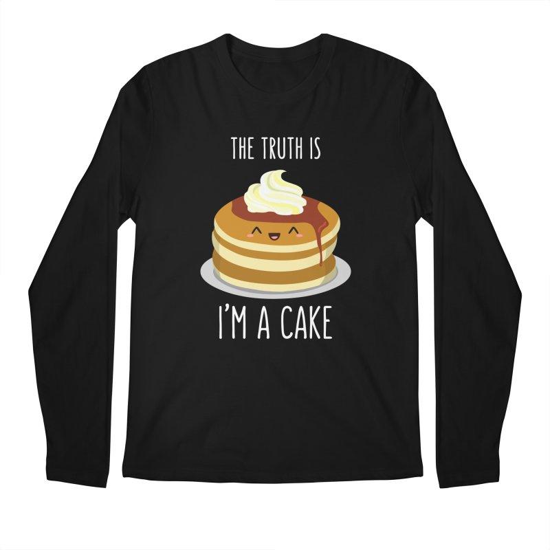 Sweet Truth Men's Regular Longsleeve T-Shirt by anishacreations's Artist Shop