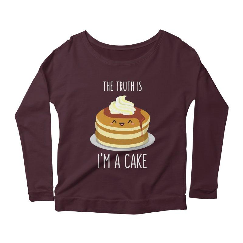 Sweet Truth Women's Scoop Neck Longsleeve T-Shirt by anishacreations's Artist Shop
