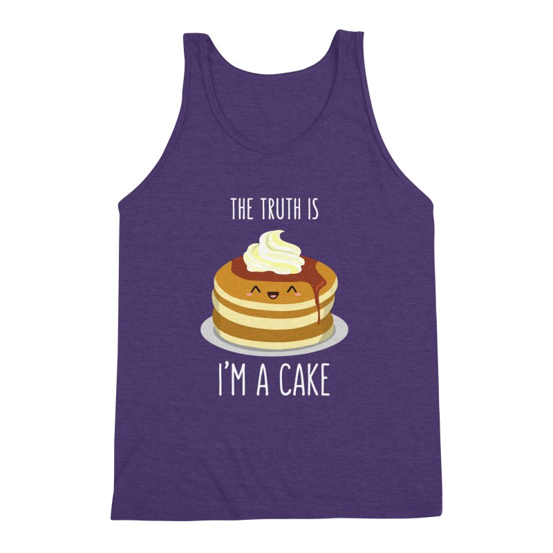 Sweet Truth Men's Triblend Tank by anishacreations's Artist Shop
