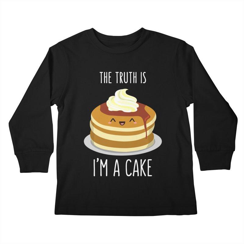 Sweet Truth Kids Longsleeve T-Shirt by anishacreations's Artist Shop