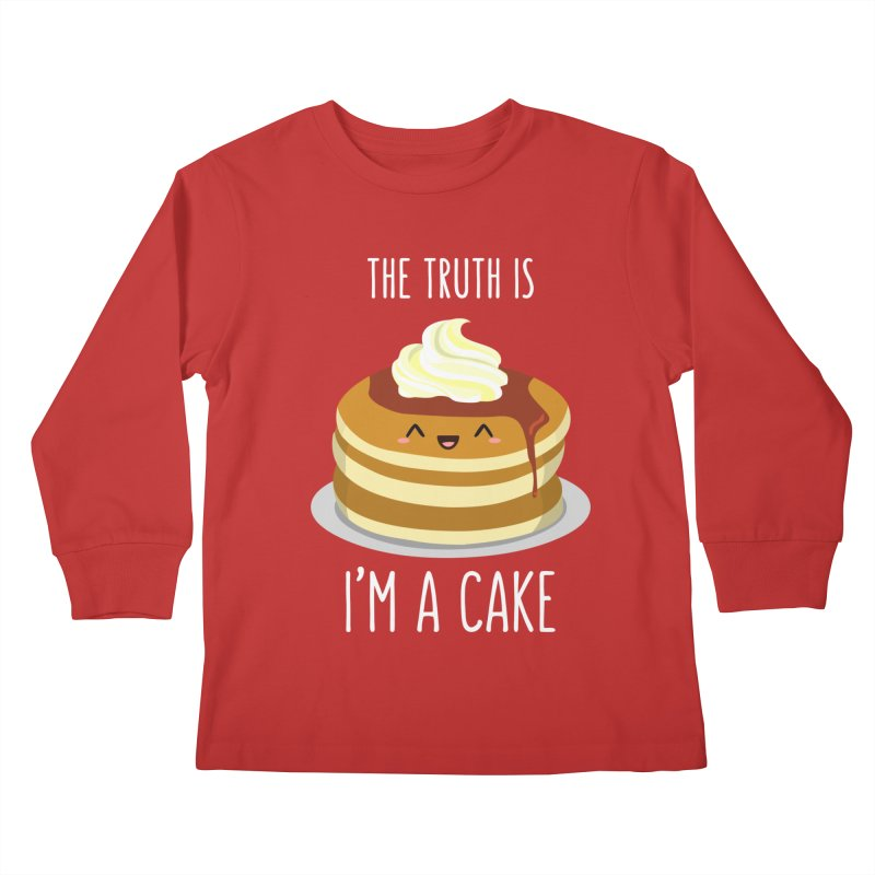 Sweet Truth Kids Longsleeve T-Shirt by anishacreations's Artist Shop