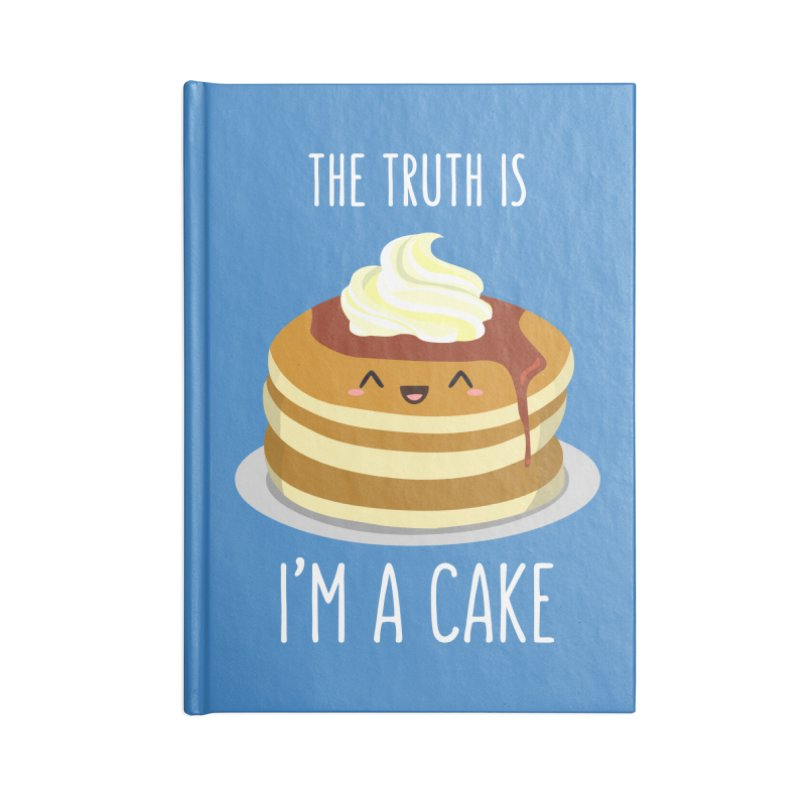 Sweet Truth Accessories Lined Journal Notebook by anishacreations's Artist Shop