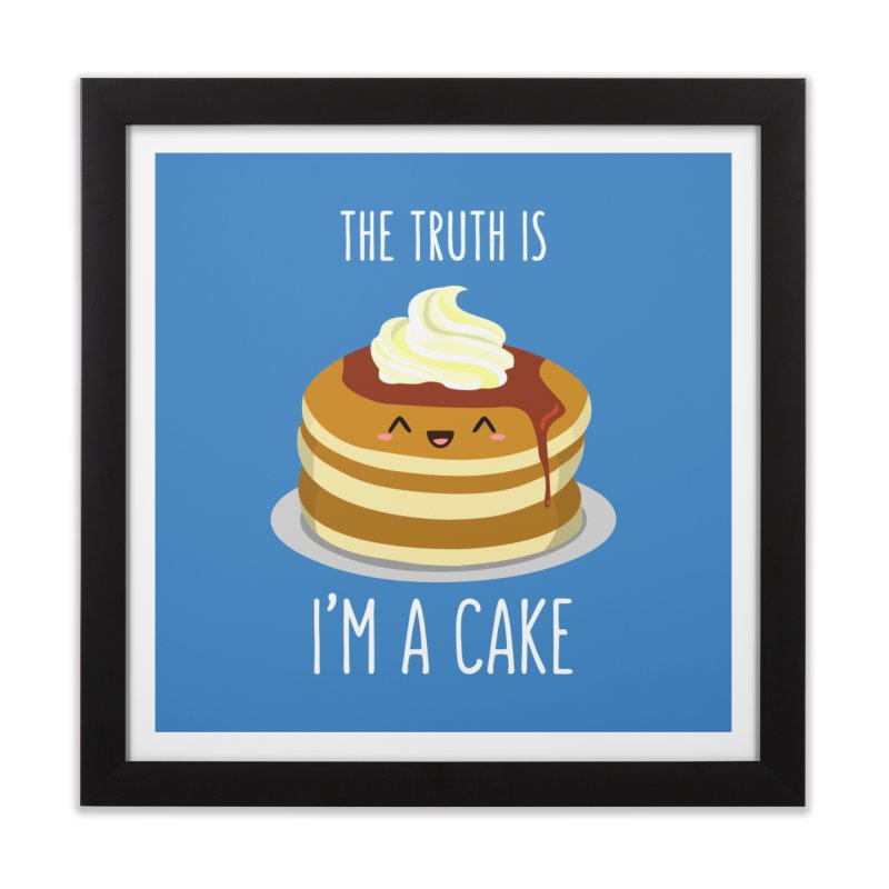 Sweet Truth Home Framed Fine Art Print by anishacreations's Artist Shop