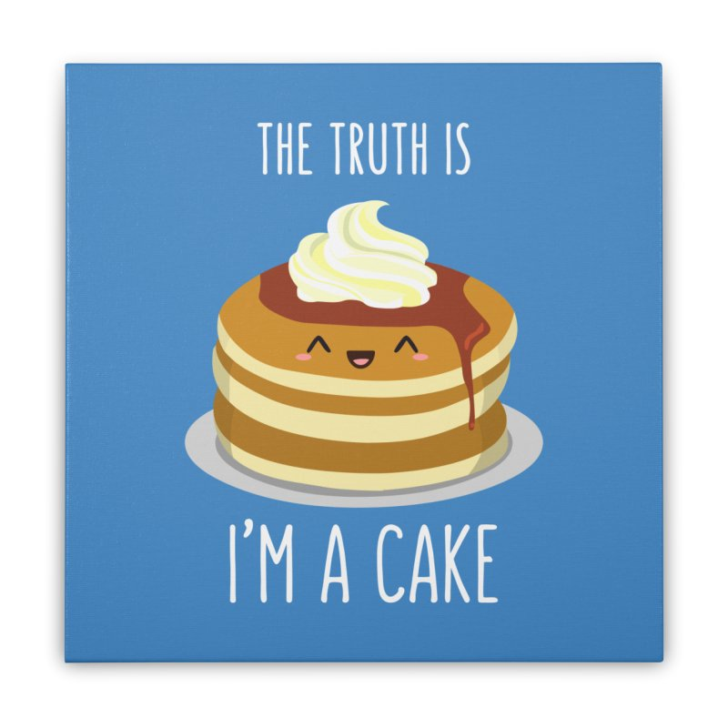 Sweet Truth Home Stretched Canvas by anishacreations's Artist Shop