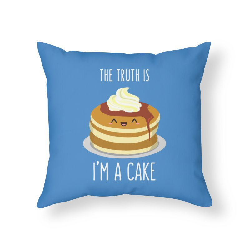 Sweet Truth Home Throw Pillow by anishacreations's Artist Shop