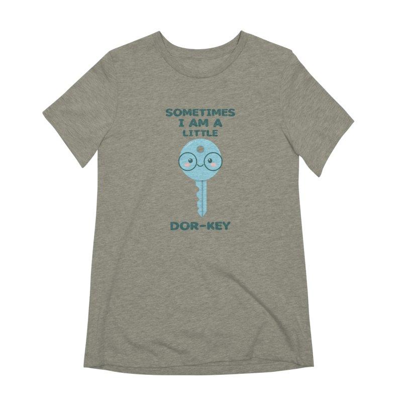 Dor-KEY Women's Extra Soft T-Shirt by anishacreations's Artist Shop