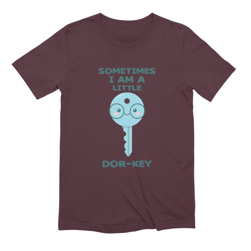 Dor-KEY Men's Extra Soft T-Shirt by anishacreations's Artist Shop