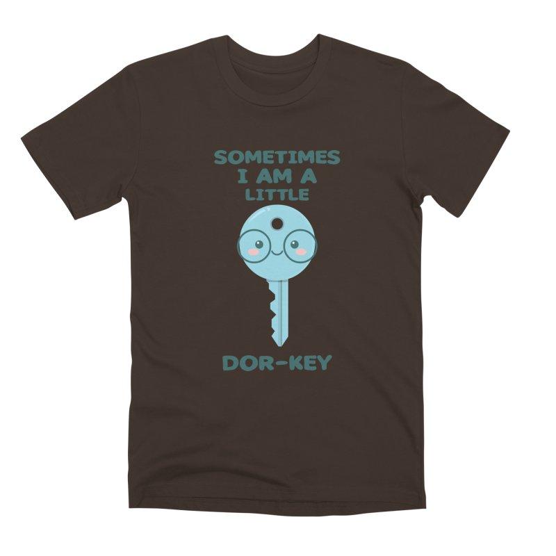 Dor-KEY Men's Premium T-Shirt by anishacreations's Artist Shop