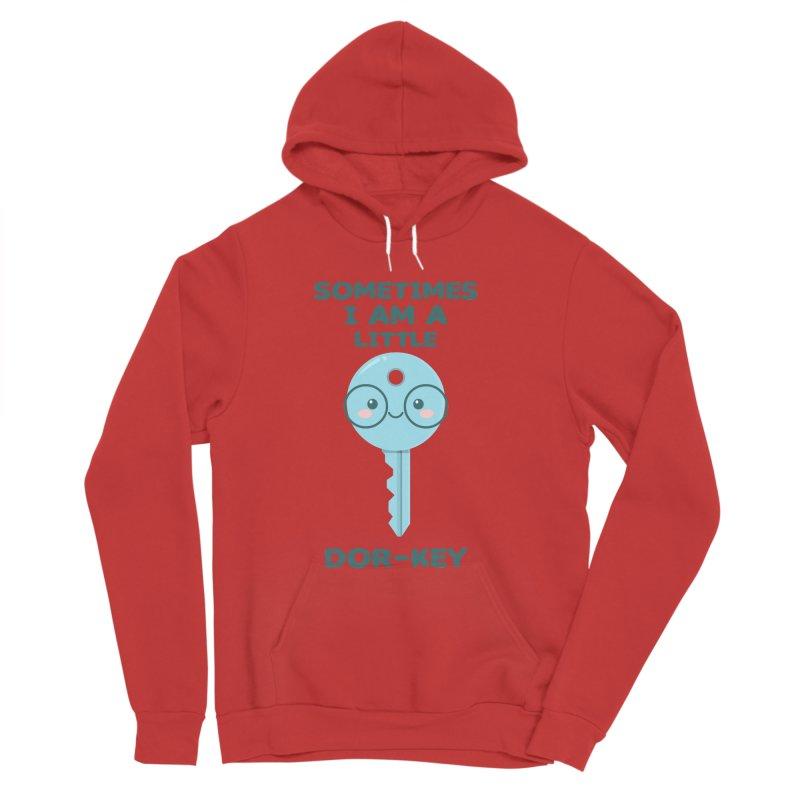 Dor-KEY Men's Sponge Fleece Pullover Hoody by anishacreations's Artist Shop
