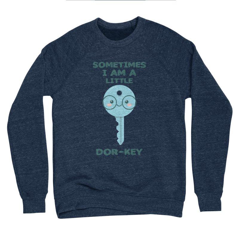 Dor-KEY Men's Sponge Fleece Sweatshirt by anishacreations's Artist Shop