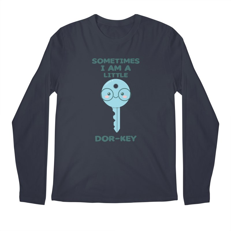 Dor-KEY Men's Regular Longsleeve T-Shirt by anishacreations's Artist Shop