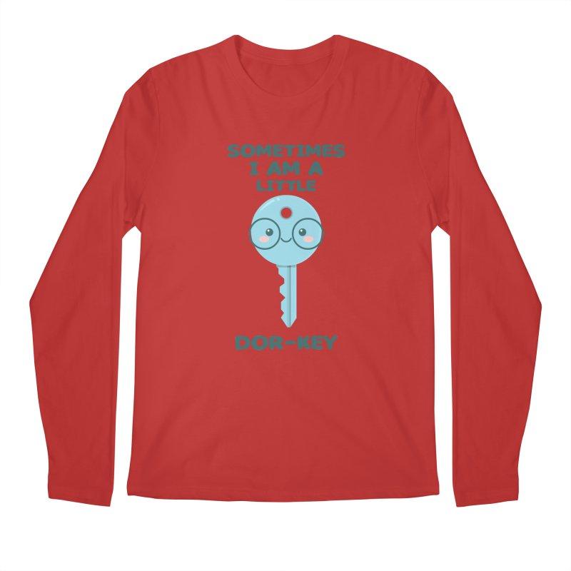 Dor-KEY Men's Regular Longsleeve T-Shirt by anishacreations's Artist Shop
