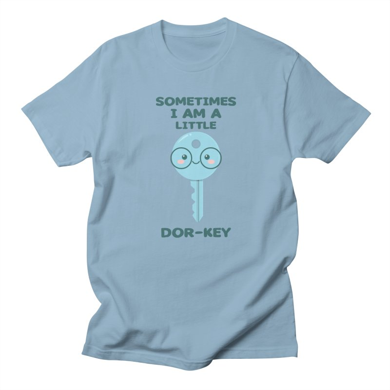 Dor-KEY Women's Regular Unisex T-Shirt by anishacreations's Artist Shop