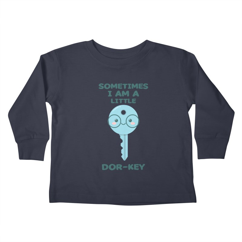 Dor-KEY Kids Toddler Longsleeve T-Shirt by anishacreations's Artist Shop
