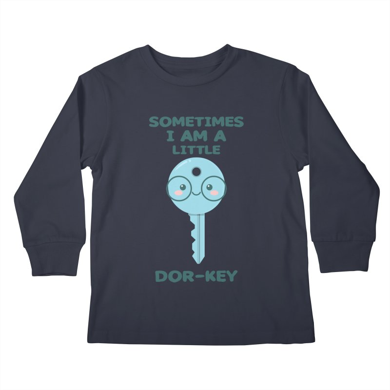 Dor-KEY Kids Longsleeve T-Shirt by anishacreations's Artist Shop