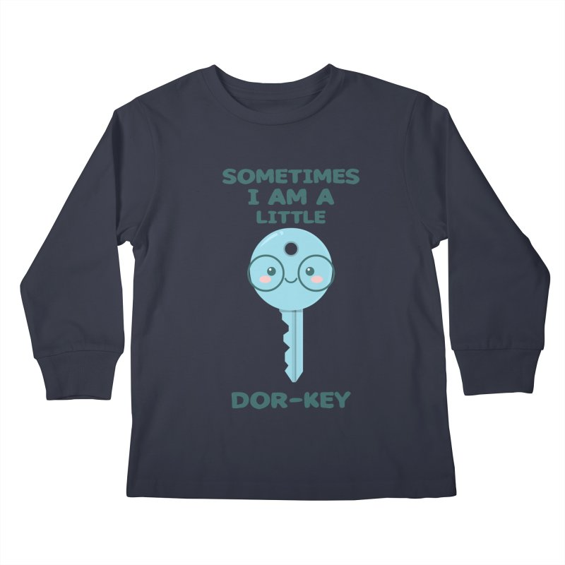 Dor-KEY Kids Longsleeve T-Shirt by anishacreations's Artist Shop