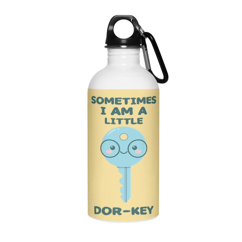 Dor-KEY Accessories Water Bottle by anishacreations's Artist Shop