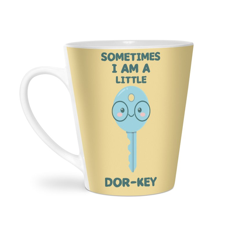 Dor-KEY Accessories Latte Mug by anishacreations's Artist Shop