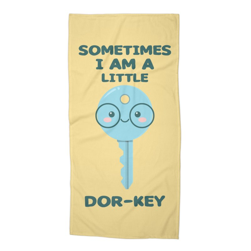 Dor-KEY Accessories Beach Towel by anishacreations's Artist Shop