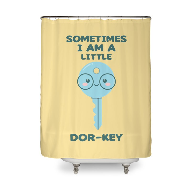 Dor-KEY Home Shower Curtain by anishacreations's Artist Shop