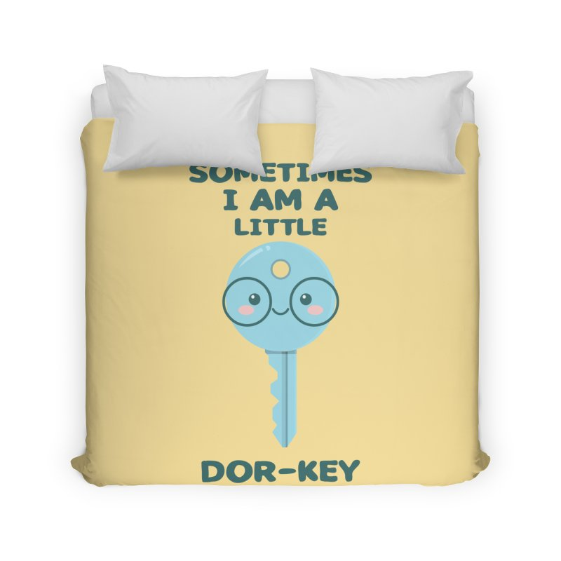 Dor-KEY Home Duvet by anishacreations's Artist Shop