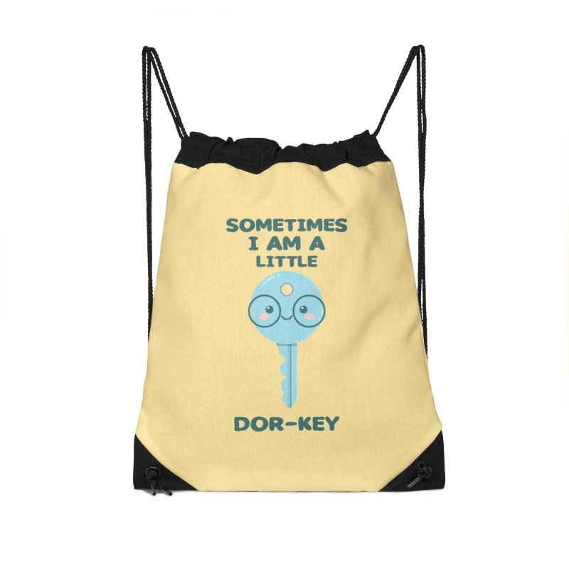 Dor-KEY Accessories Drawstring Bag Bag by anishacreations's Artist Shop