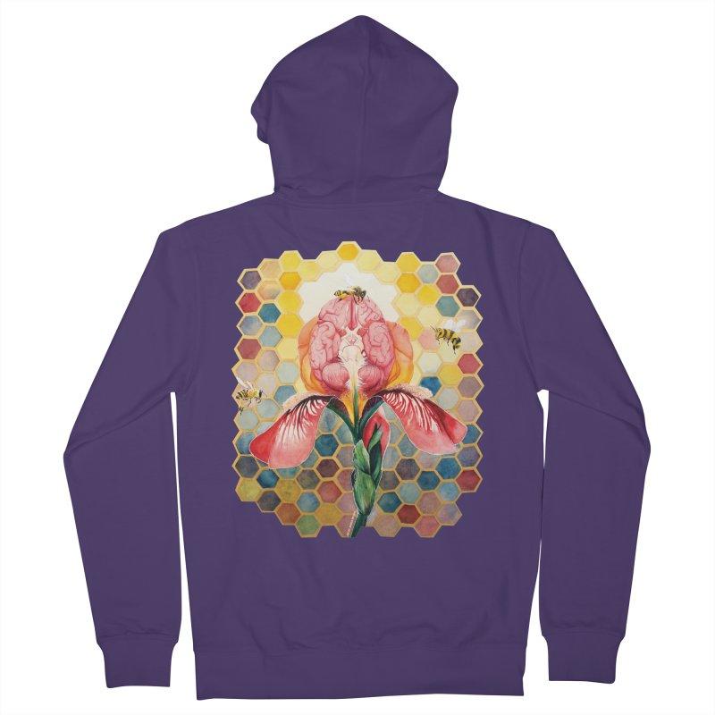 Hive Mind Women's Zip-Up Hoody by Anissa's Artist Shop