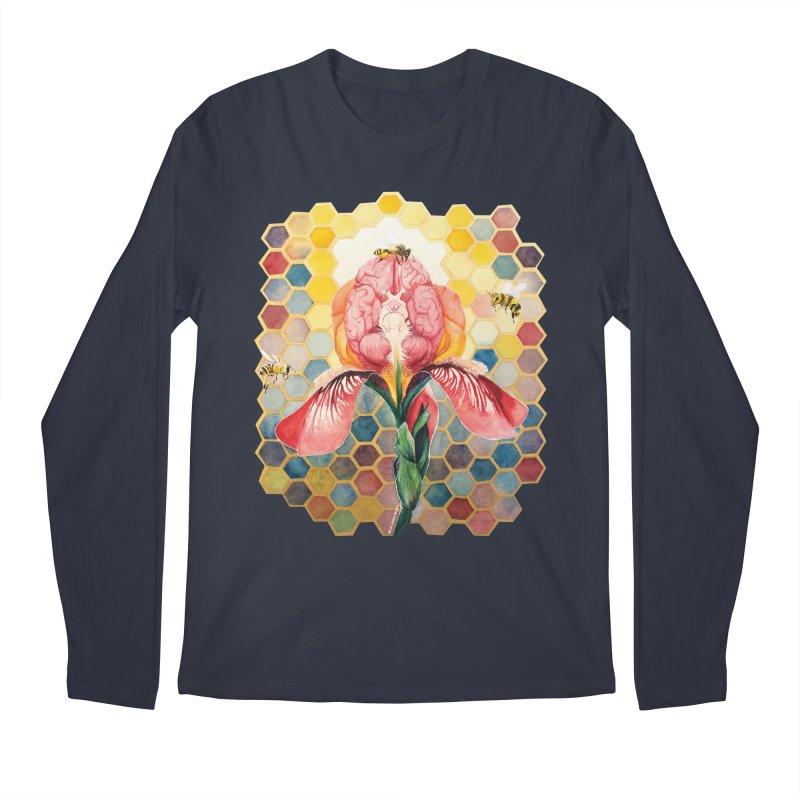 Hive Mind Men's Regular Longsleeve T-Shirt by Anissa's Artist Shop