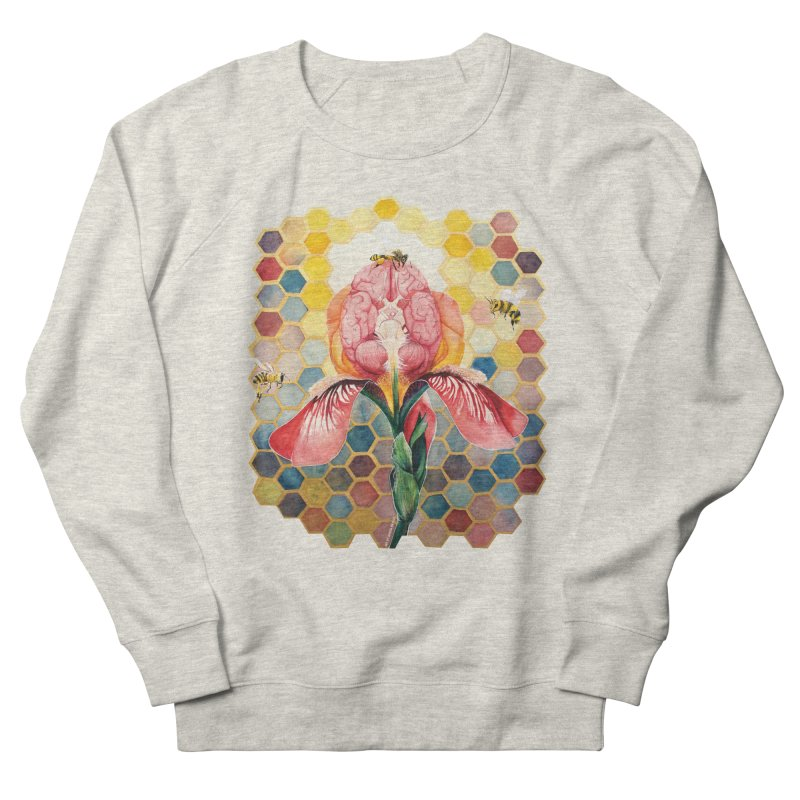 Hive Mind Women's French Terry Sweatshirt by Anissa's Artist Shop
