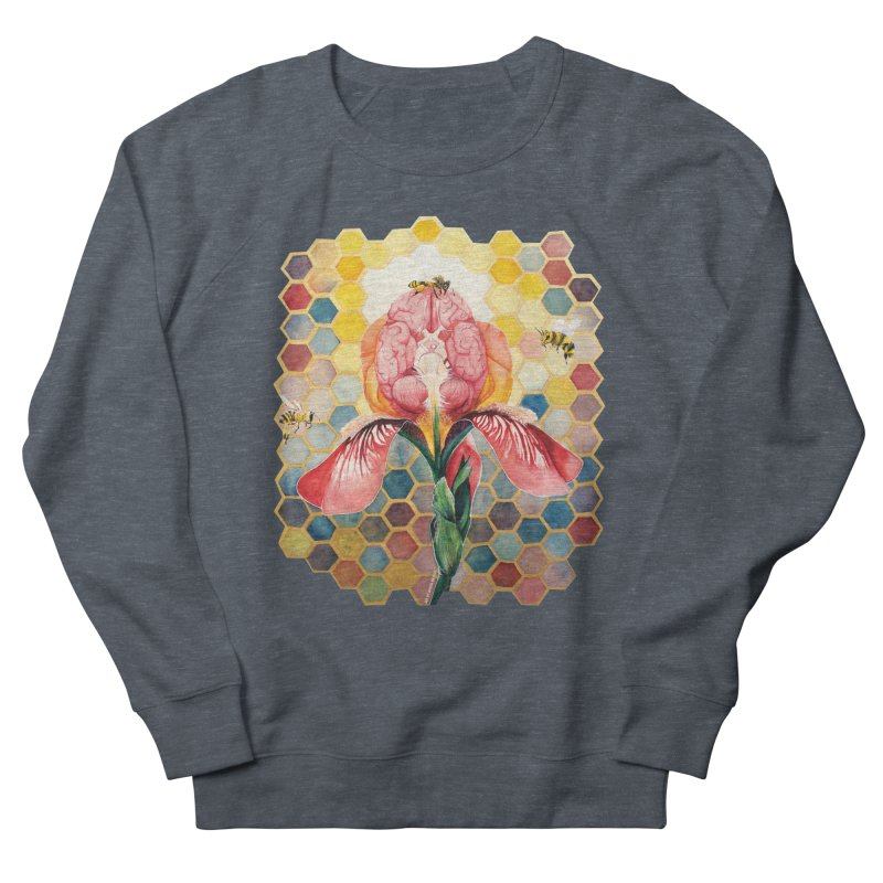 Hive Mind Men's French Terry Sweatshirt by Anissa's Artist Shop