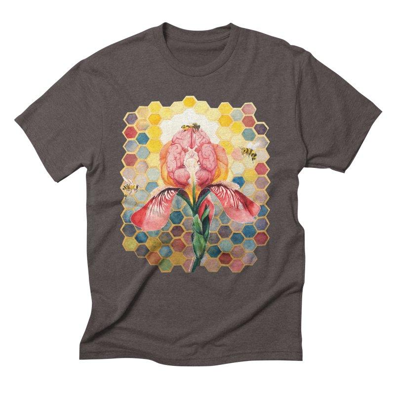 Hive Mind Men's Triblend T-shirt by Anissa's Artist Shop
