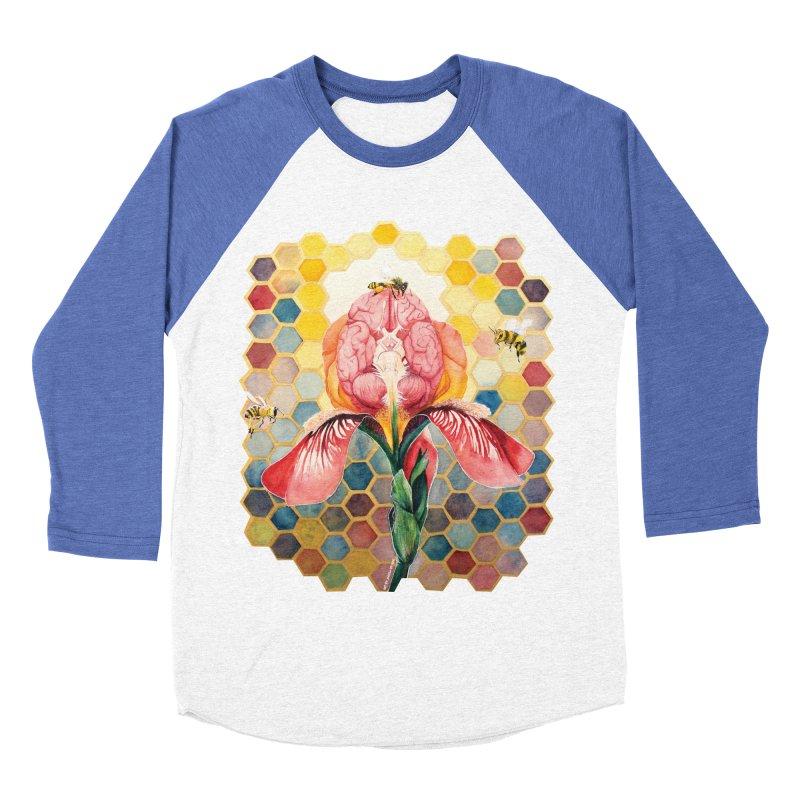 Hive Mind Women's Baseball Triblend T-Shirt by Anissa's Artist Shop