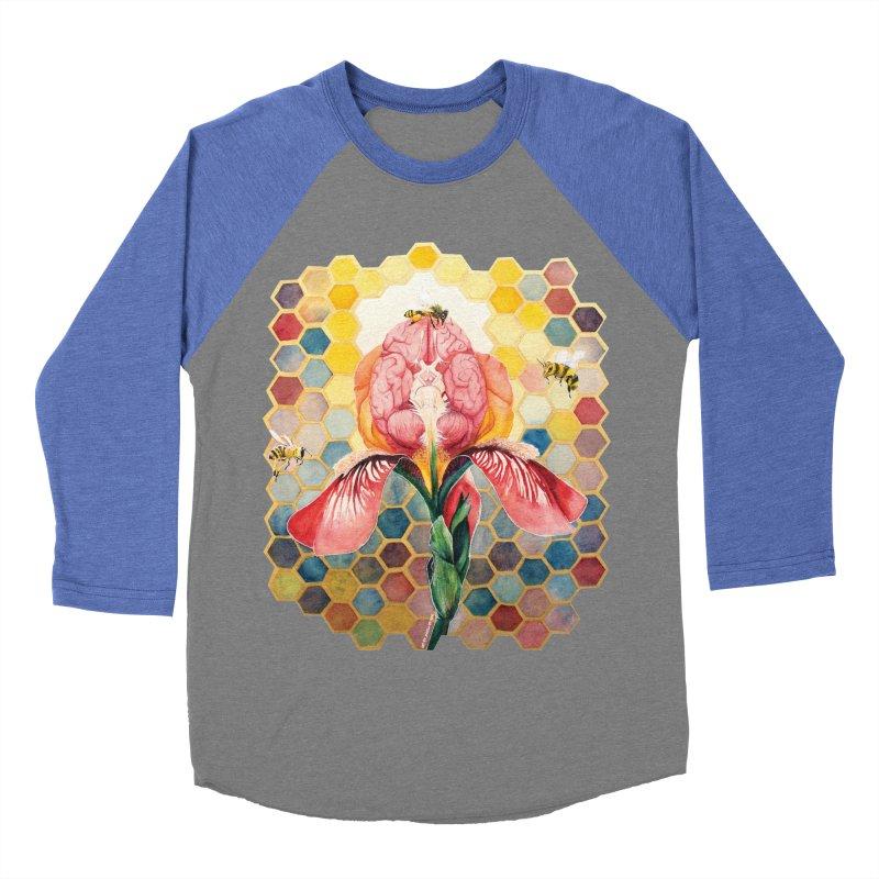 Hive Mind Women's Baseball Triblend Longsleeve T-Shirt by Anissa's Artist Shop