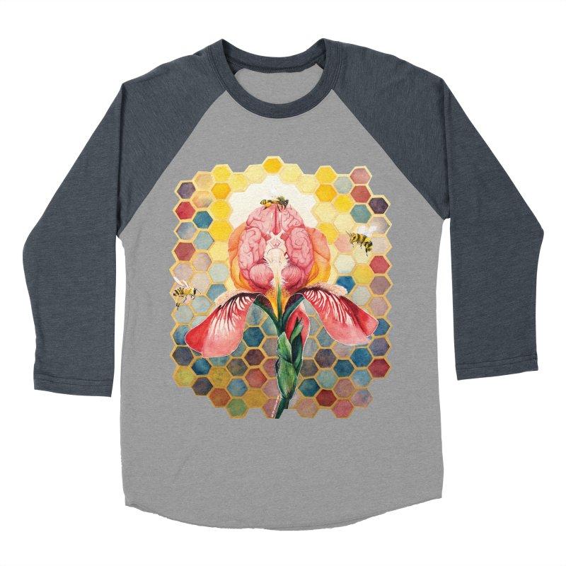 Hive Mind Men's Baseball Triblend T-Shirt by Anissa's Artist Shop