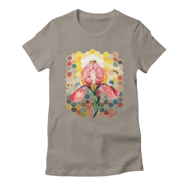Hive Mind Women's Fitted T-Shirt by Anissa's Artist Shop
