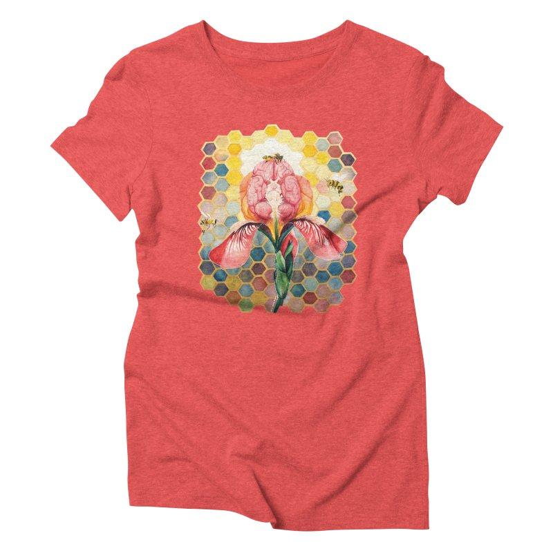 Hive Mind Women's Triblend T-shirt by Anissa's Artist Shop