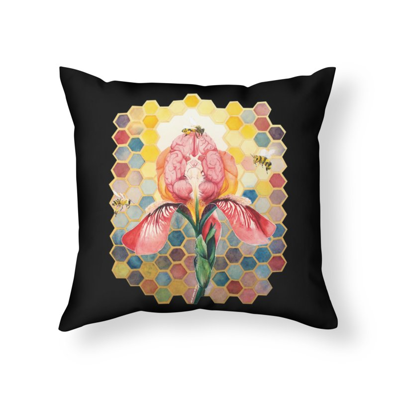 Hive Mind Home Throw Pillow by Anissa's Artist Shop