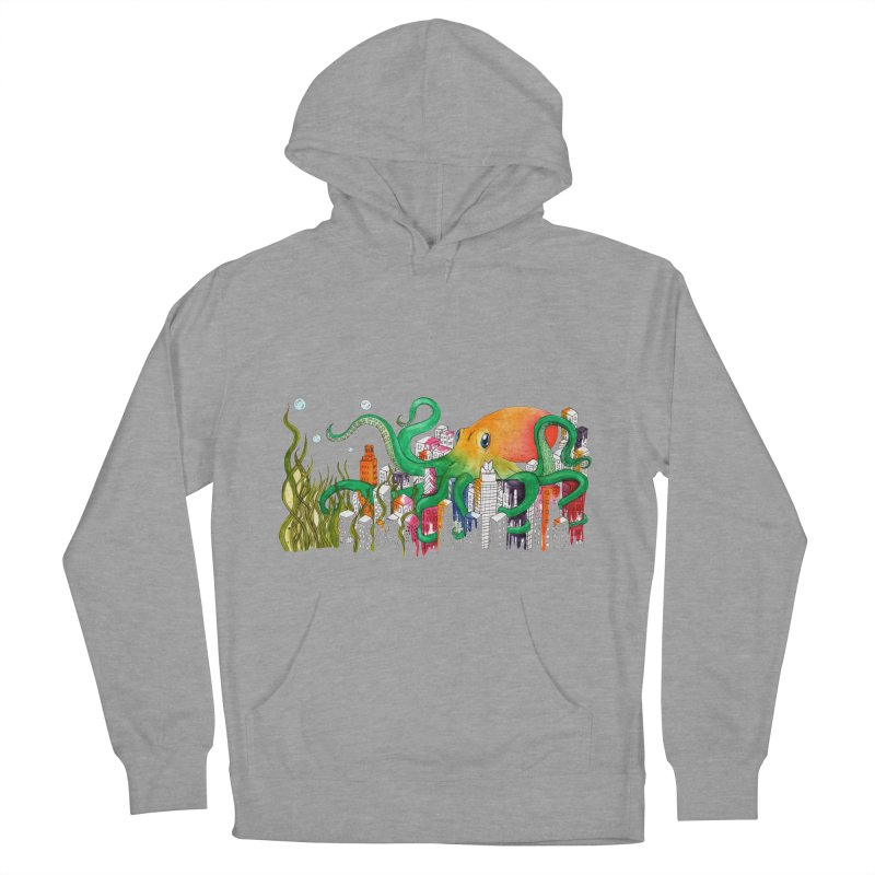 Attack on Austin Women's Pullover Hoody by Anissa's Artist Shop