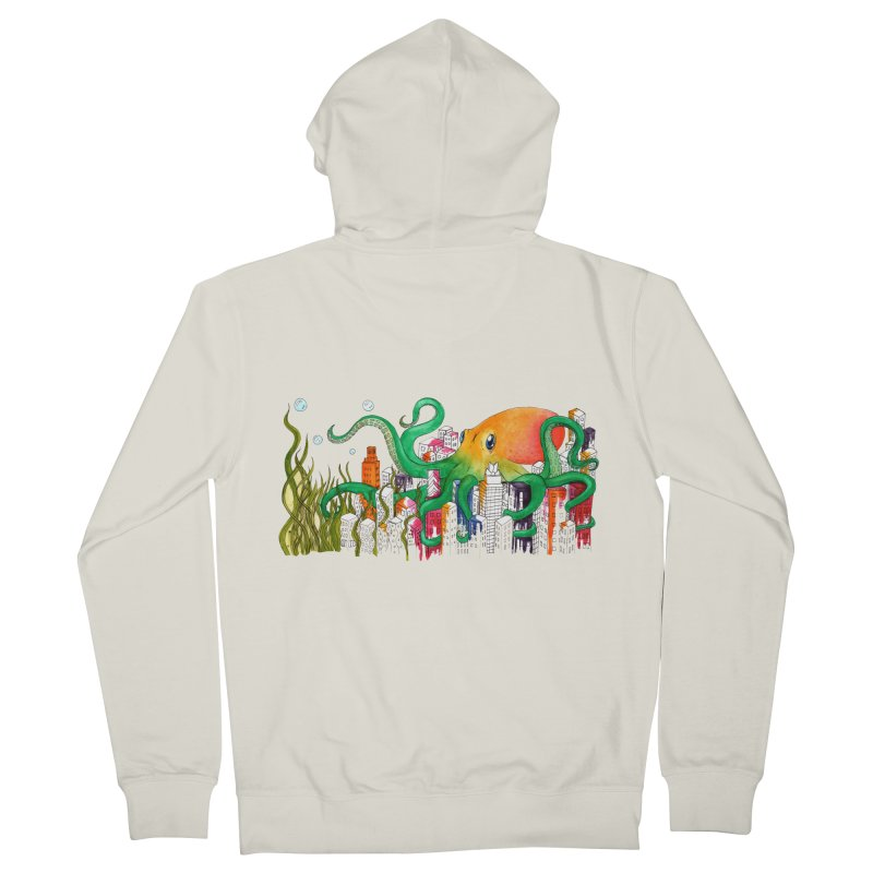 Attack on Austin Women's Zip-Up Hoody by Anissa's Artist Shop