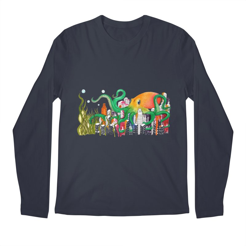 Attack on Austin Men's Longsleeve T-Shirt by Anissa's Artist Shop