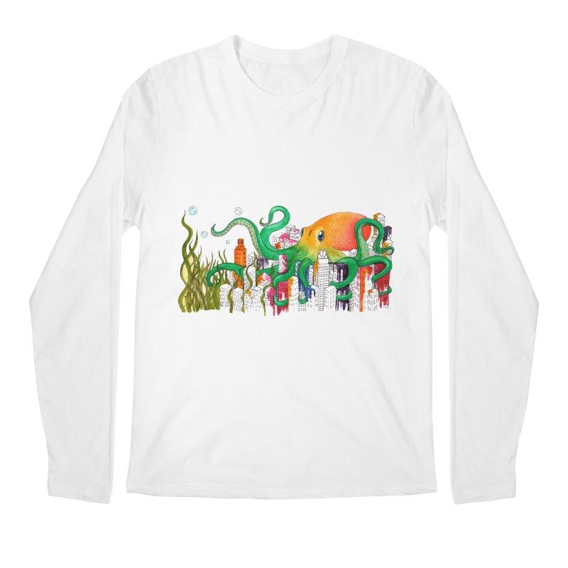 Attack on Austin Men's Longsleeve T-Shirt by Anissa's Artist Shop
