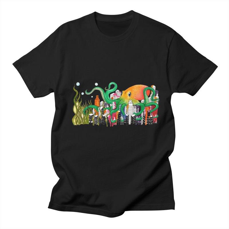 Attack on Austin Men's T-shirt by Anissa's Artist Shop