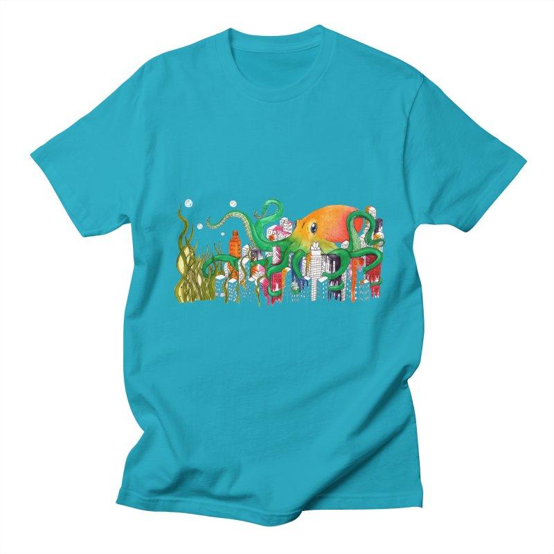 Attack on Austin Women's Regular Unisex T-Shirt by Anissa's Artist Shop