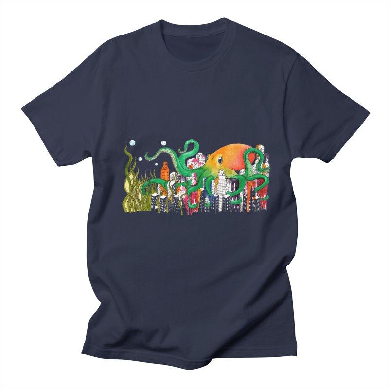 Attack on Austin Women's Unisex T-Shirt by Anissa's Artist Shop