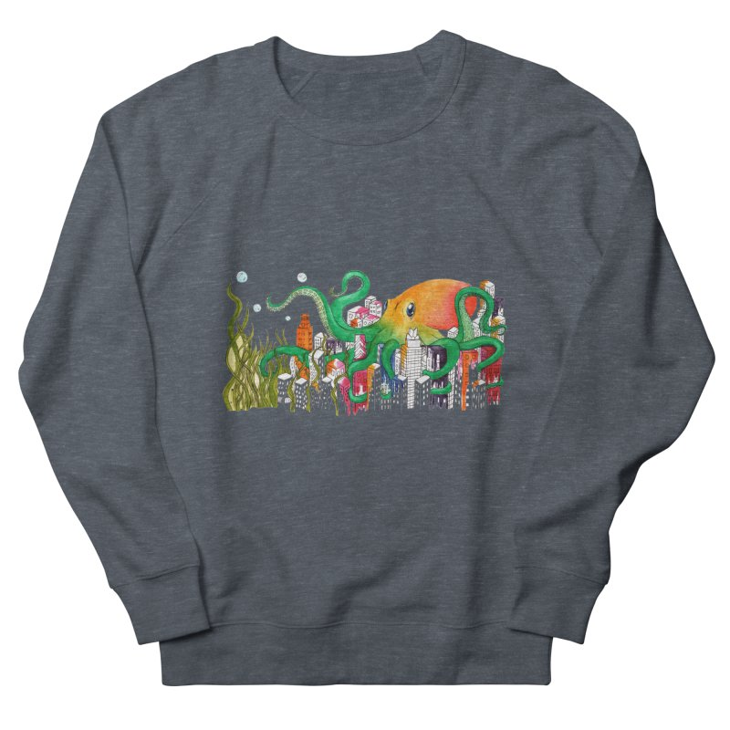 Attack on Austin Women's French Terry Sweatshirt by Anissa's Artist Shop