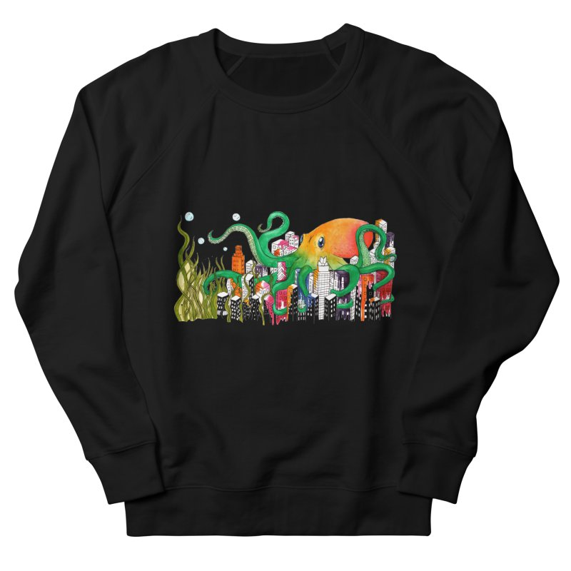 Attack on Austin Women's Sweatshirt by Anissa's Artist Shop